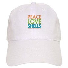 Peace-Love-Shells Baseball Cap