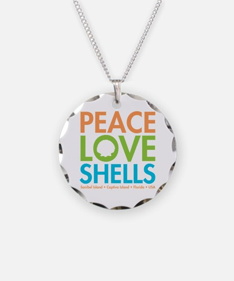 Peace Love Ss Necklace