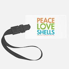 Peace-Love-Shells Luggage Tag