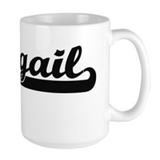 Abbigail Classic Retro Name Design Mugs