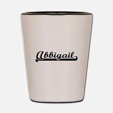 Abbigail Classic Retro Name Design Shot Glass