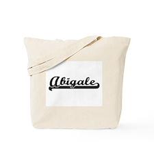 Abigale Classic Retro Name Design Tote Bag