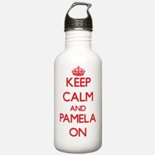 Keep Calm and Pamela O Water Bottle
