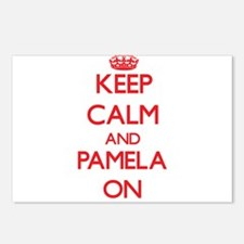 Keep Calm and Pamela ON Postcards (Package of 8)