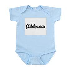 Addyson Classic Retro Name Design Body Suit