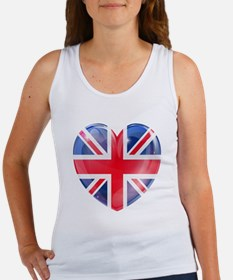 MY BRITISH HEART Women's Tank Top