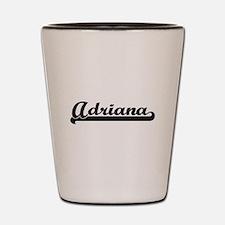 Adriana Classic Retro Name Design Shot Glass