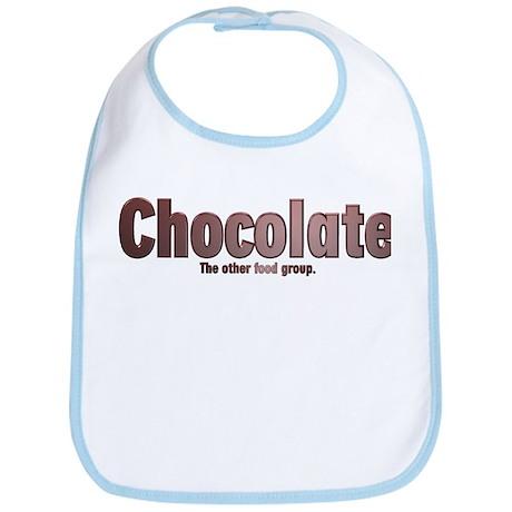 Chocolate Food Group Bib
