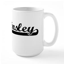 Ainsley Classic Retro Name Design Mugs