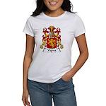 Vignes Family Crest Women's T-Shirt