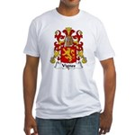 Vignes Family Crest Fitted T-Shirt