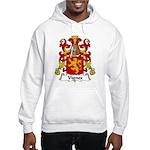 Vignes Family Crest Hooded Sweatshirt