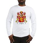 Vignes Family Crest Long Sleeve T-Shirt