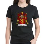 Vignes Family Crest Women's Dark T-Shirt