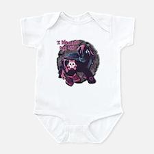 Gothic Princess Pony Infant Bodysuit