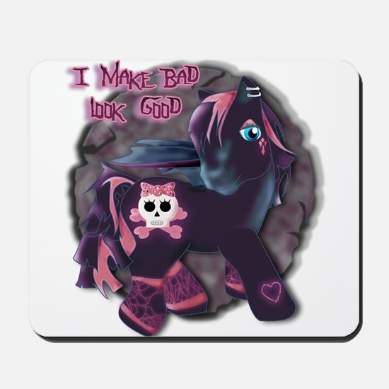 Gothic Princess Pony Mousepad