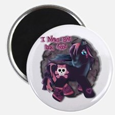 Gothic Princess Pony Magnet