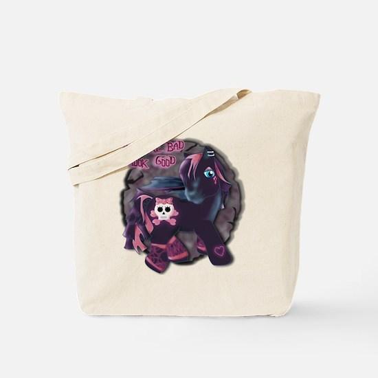 Gothic Princess Pony Tote Bag