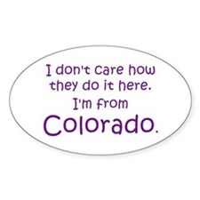 From Colorado Decal