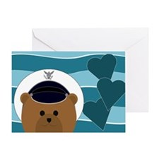 Air Force Cadet Missing You Card Greeting Cards