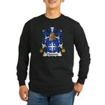 Vigneron Family Crest Long Sleeve Dark T-Shirt