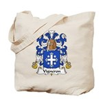 Vigneron Family Crest Tote Bag