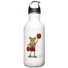 Meh Leader Cartoon Water Bottle