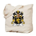 Viault Family Crest Tote Bag