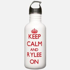 Keep Calm and Rylee ON Water Bottle