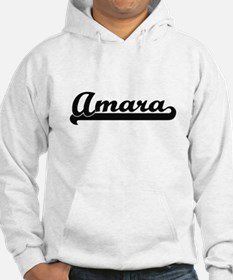 Amara Classic Retro Name Design Jumper Hoody