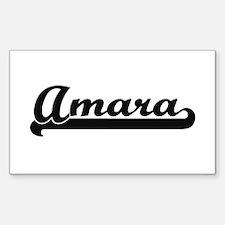Amara Classic Retro Name Design Decal
