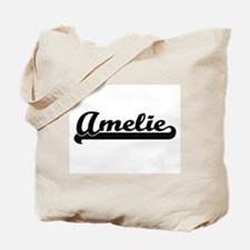 Amelie Classic Retro Name Design Tote Bag