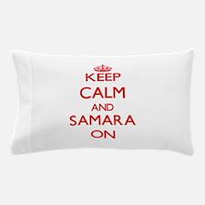 Keep Calm and Samara ON Pillow Case
