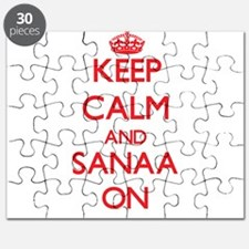 Keep Calm and Sanaa ON Puzzle