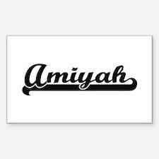 Amiyah Classic Retro Name Design Decal