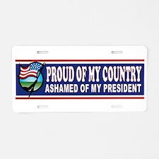 Proud Bumper Aluminum License Plate