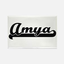 Amya Classic Retro Name Design Magnets