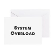 System Overload Greeting Cards (Pk of 10)