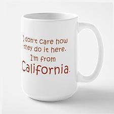 From California Large Mug