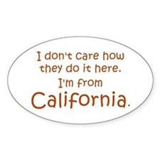 From California Decal