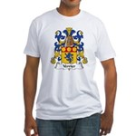 Verrier Family Crest  Fitted T-Shirt