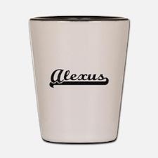 Alexus Classic Retro Name Design Shot Glass