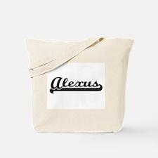 Alexus Classic Retro Name Design Tote Bag