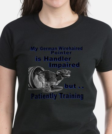 German Wirehd Pointer Agil Women's Dark T-Shirt
