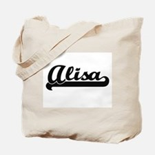 Alisa Classic Retro Name Design Tote Bag