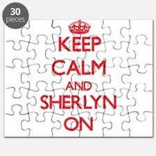 Keep Calm and Sherlyn ON Puzzle