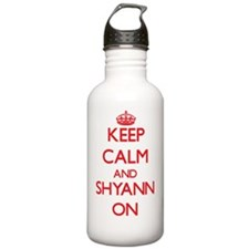 Keep Calm and Shyann O Water Bottle