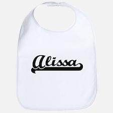 Alissa Classic Retro Name Design Bib