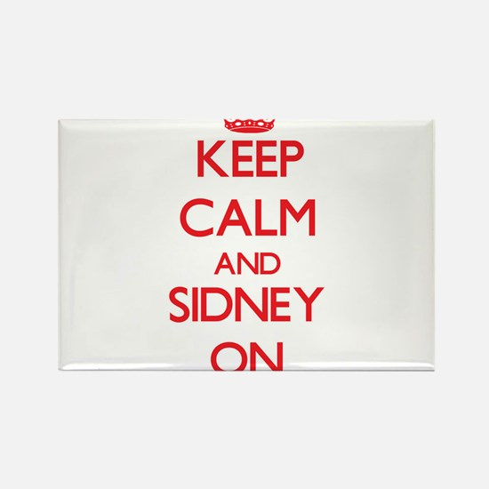 Keep Calm and Sidney ON Magnets