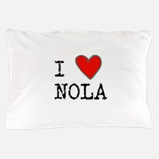 I Love NOLA Pillow Case